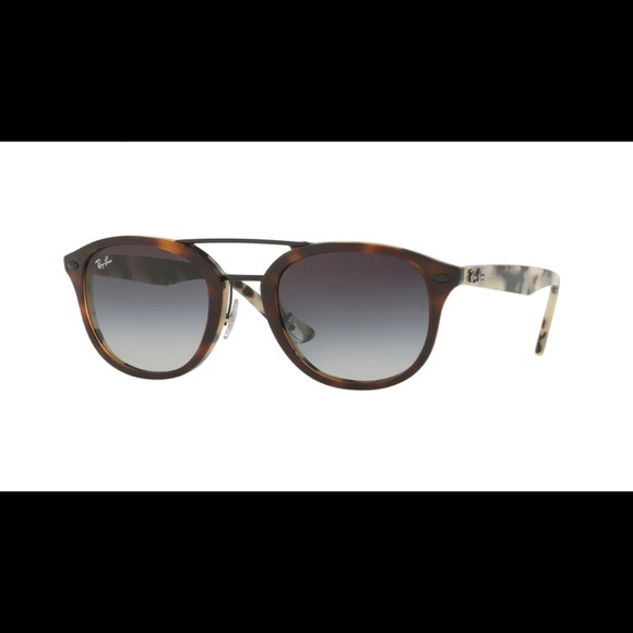 4547e875d8 New Ray Ban Highstreet Tortoise Gray Sunglasses. M 5b48ec9abb7615fcd03e72a2